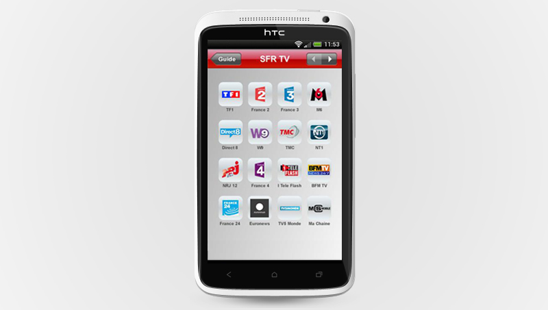 Application gratuite SFR TV sur Google Play