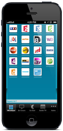 tv sur mobile free iphone