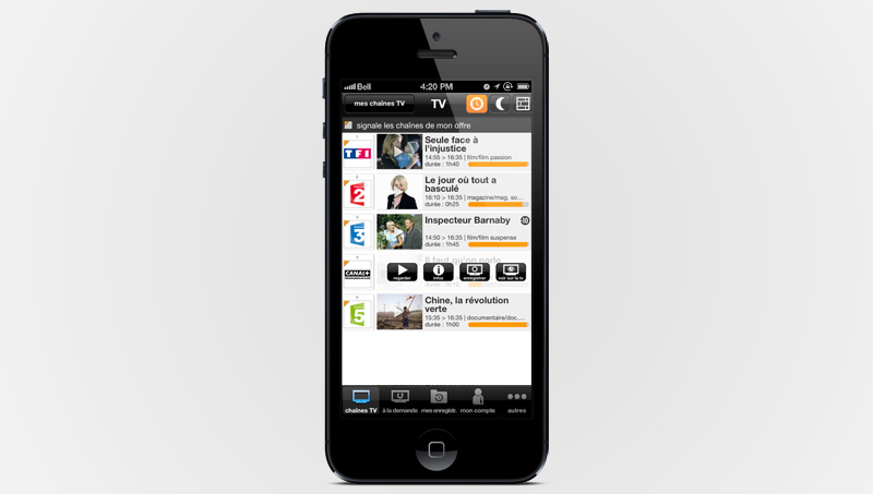 orange tv iphone tv en direct avec orange tv sur ipad. Black Bedroom Furniture Sets. Home Design Ideas